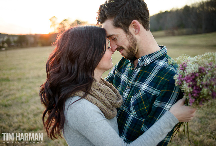 Cartersville farm engagement shoot