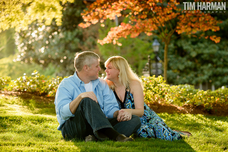 downtown Roswell engagement pictures