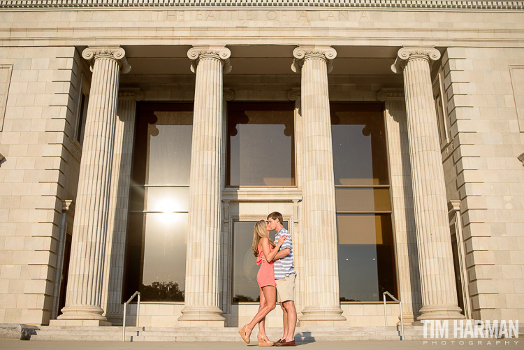 engagement shoot in grant park