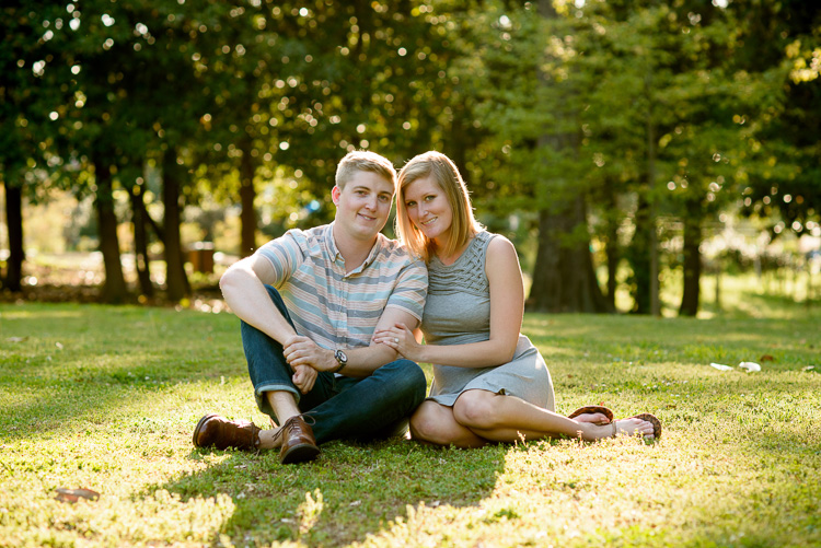 Marietta engagement shoot