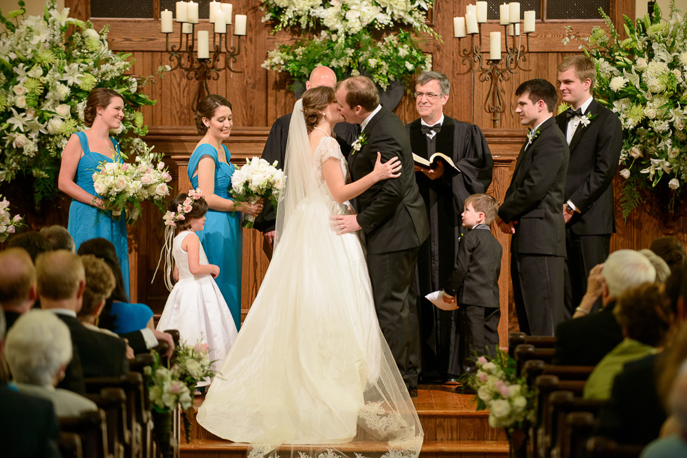 Wedding at First Presbyterian Church of Macon