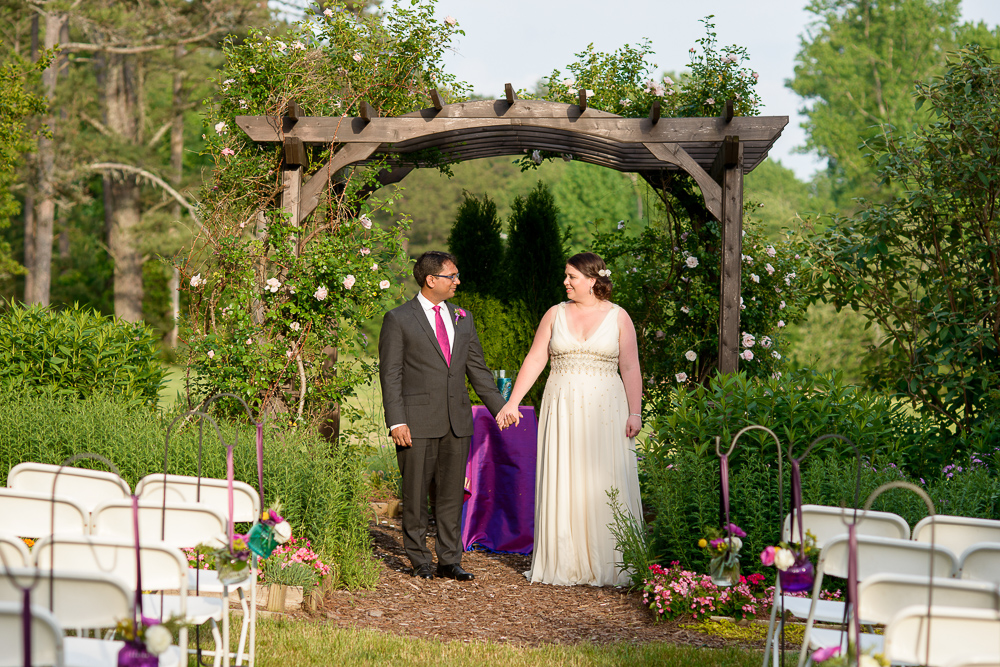 May wedding at Glen Ella Springs