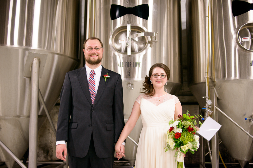 Wedding at Monday Night Brewing