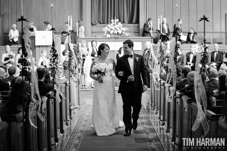 Wedding at Northside Drive Baptist Church, Atlanta, GA