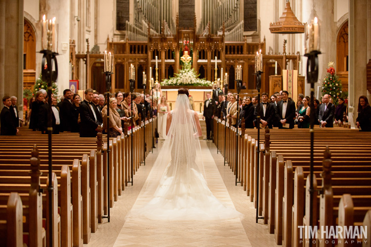 Wedding at The Cathedral of St. Philip, Atlanta, GA