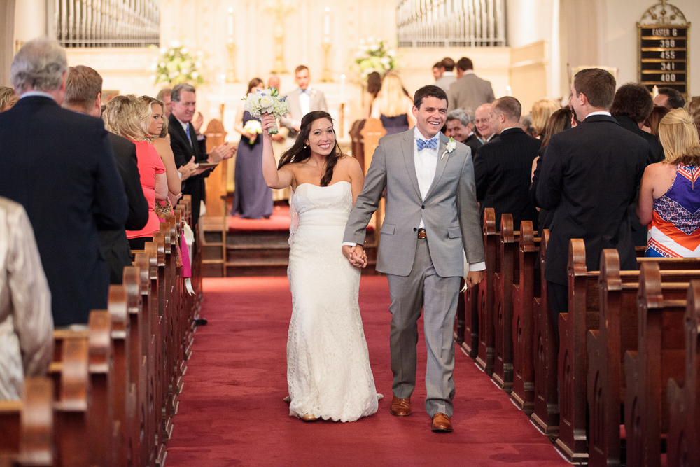 Wedding at Emmanuel Episcopal Church in Athens, GA