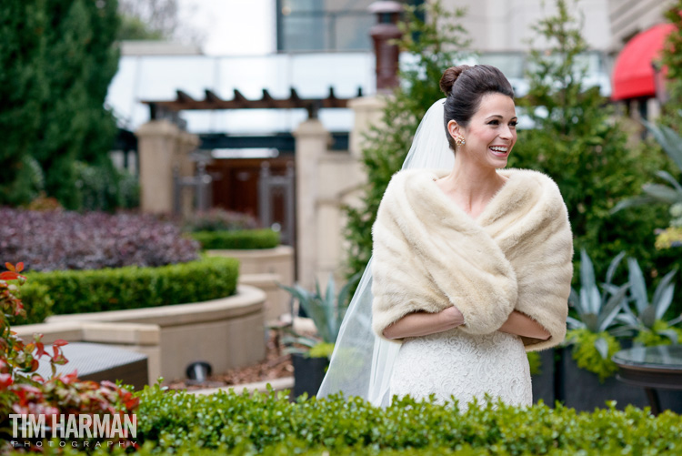 Bridal portrait at St. Regis Hotel in Buckhead