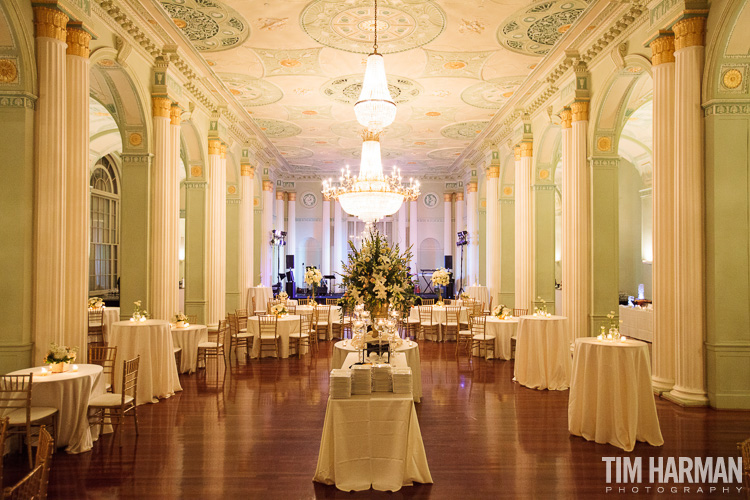 Wedding Reception at The Biltmore Ballrooms, Atlanta, GA