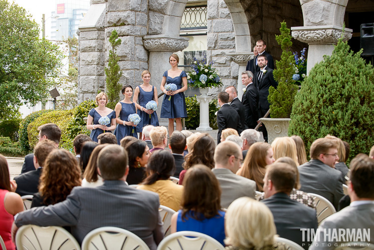 Wedding and Reception at Rhodes Hall, Atlanta, GA